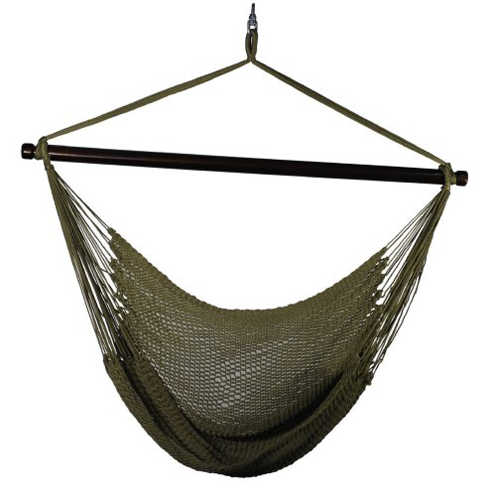 Beautiful Hanging Caribbean Rope Chair By Alogma