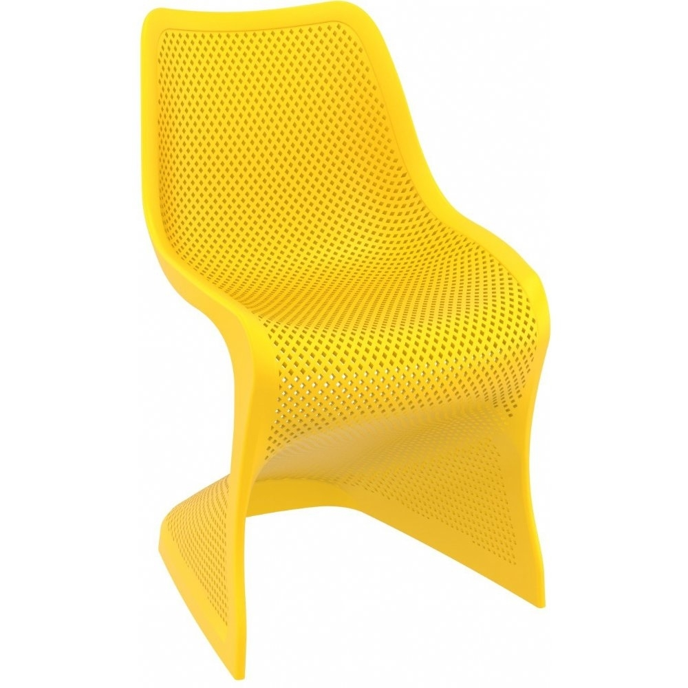 Bloom Dining Chair Yellow - Pack of 2 5a6f02dce224615a513edbf7