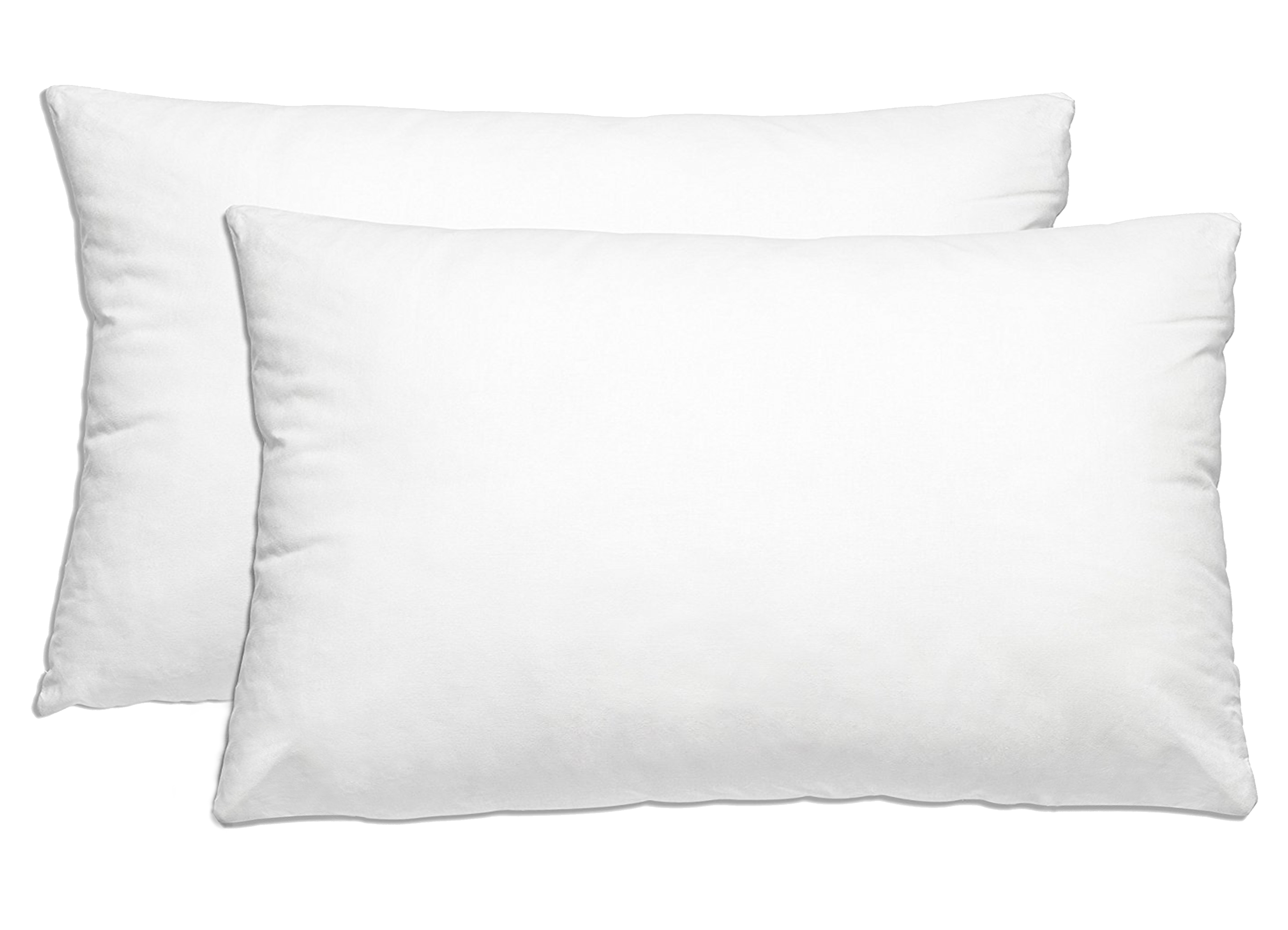 Down-alternative Premium Bed Pillows: 2 Pack - Queen / Standard