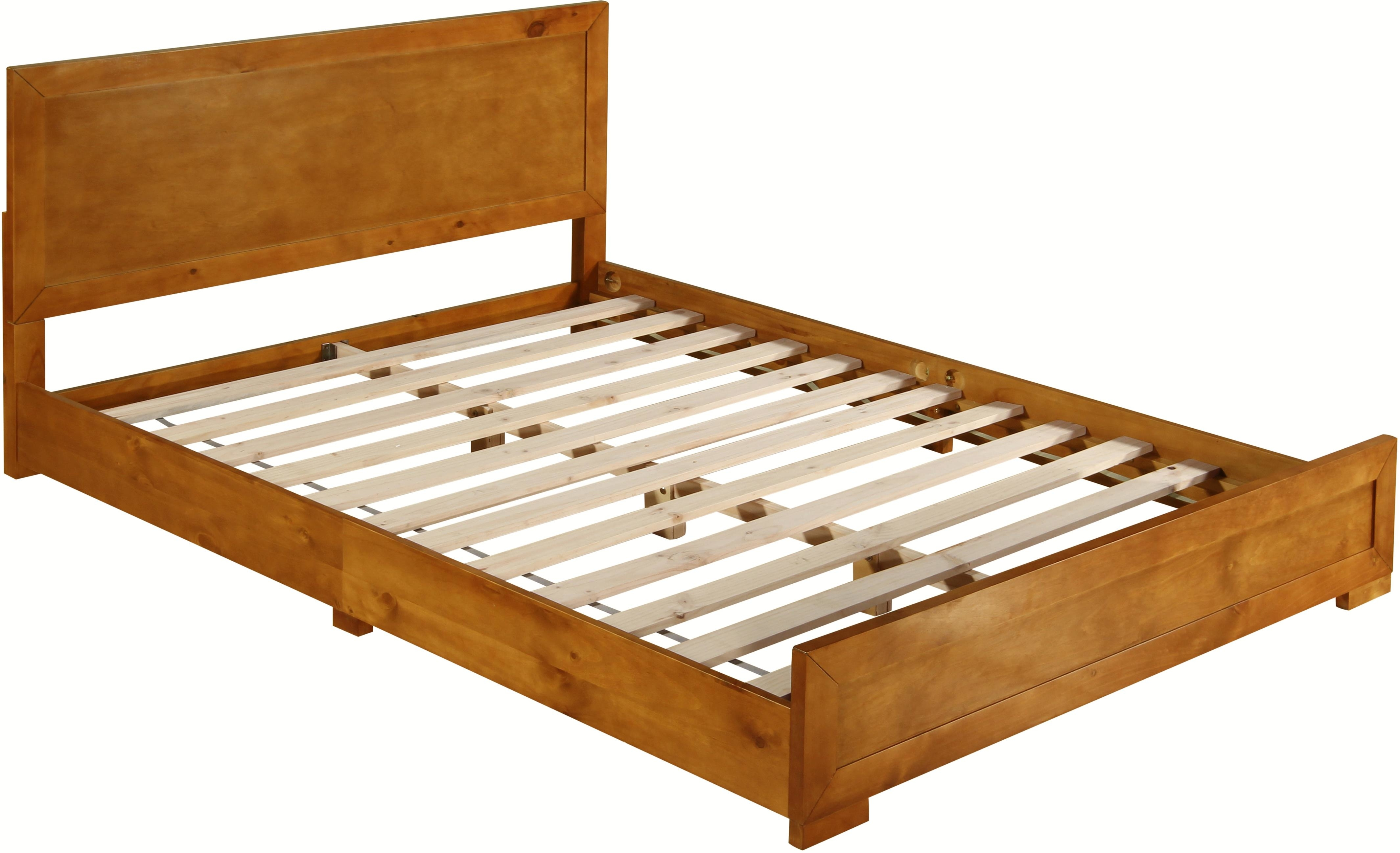 Oxford Oak Queen Bed