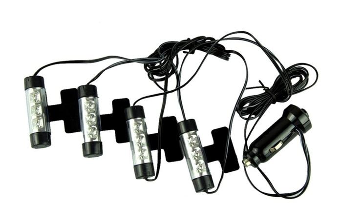 4 LED Car Interior Light Bulbs