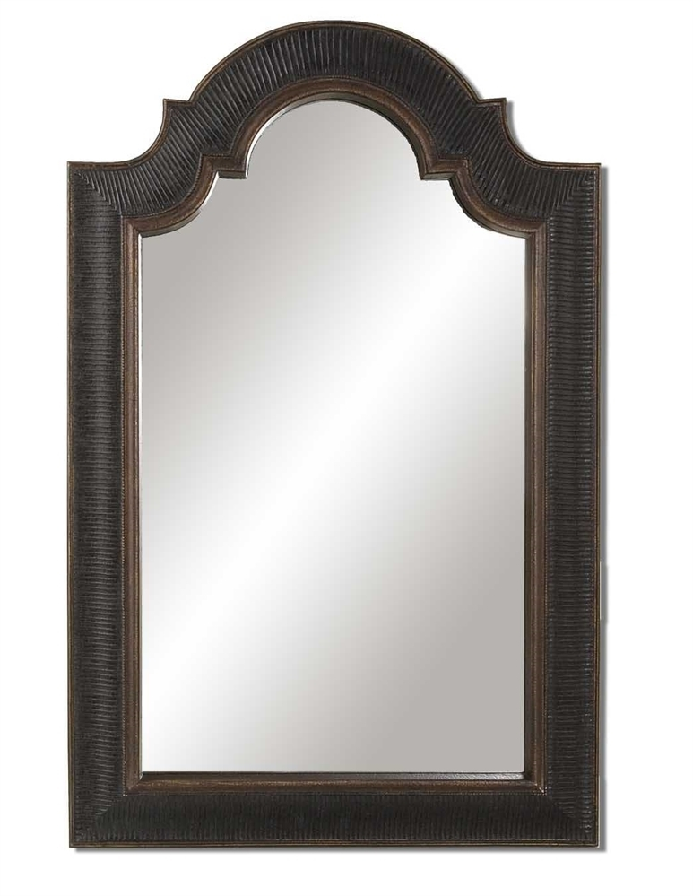 Uttermost Ribbed Arch Antique Mirror 5aaa12c12a00e4767d6d0f6a