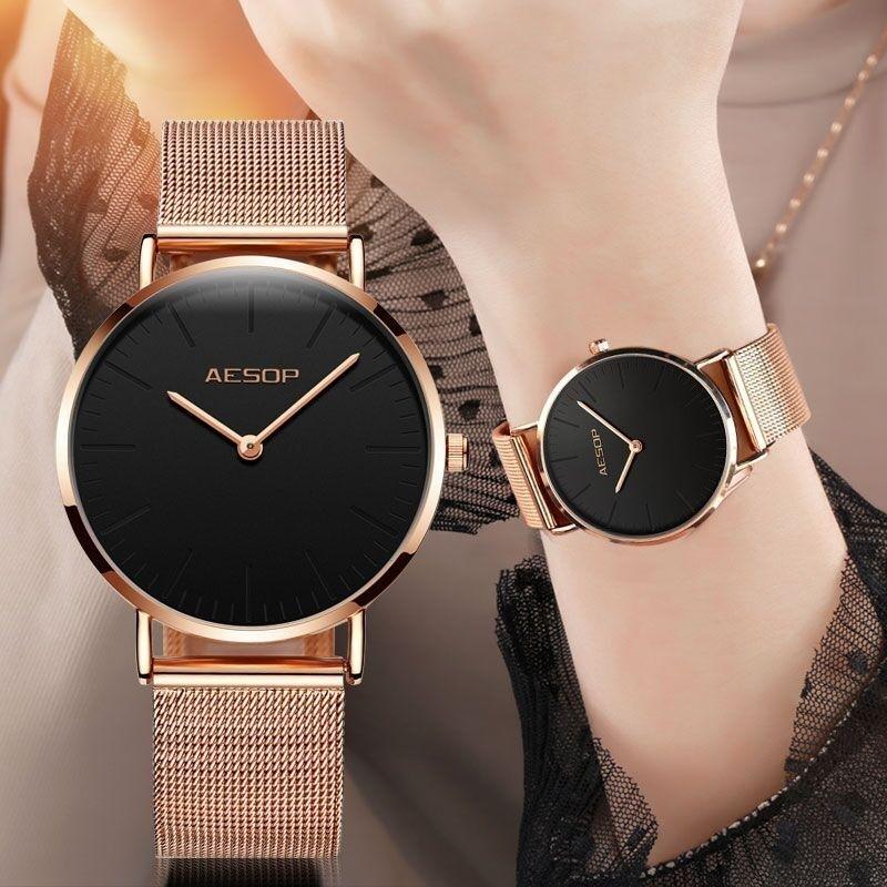 Ladies_Watch_Milanese_steel_strap_Watches_-_Women_watch_1