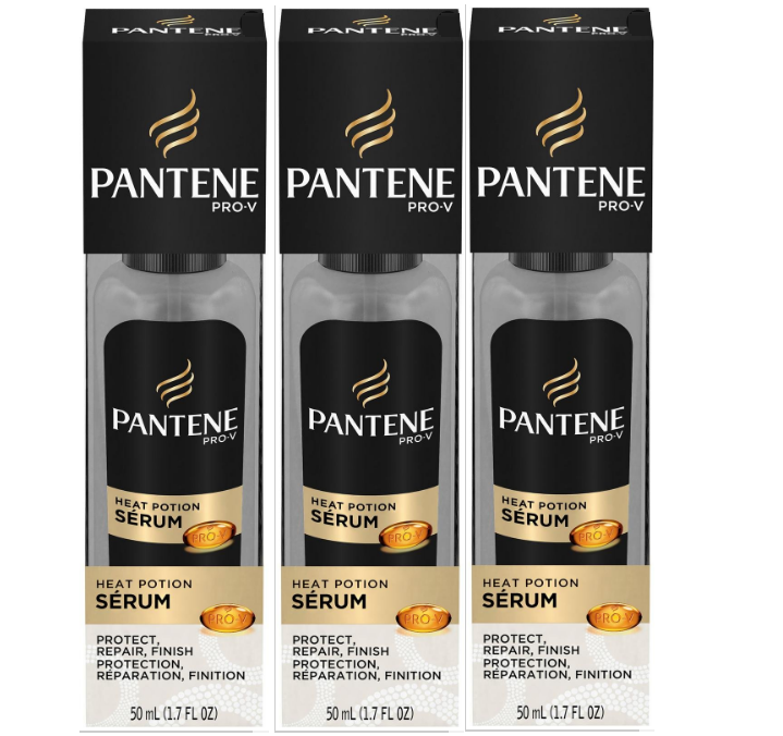 Pantene Pro-V Heat Potion Serum, 1.7 Ounce (pack of 3)