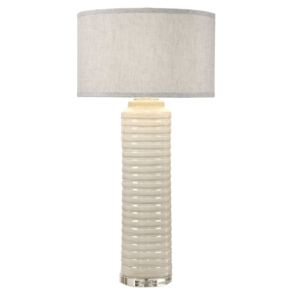 Uttermost Yana Ribbed Cylinder Lamp 5ac487432a00e469d7470244