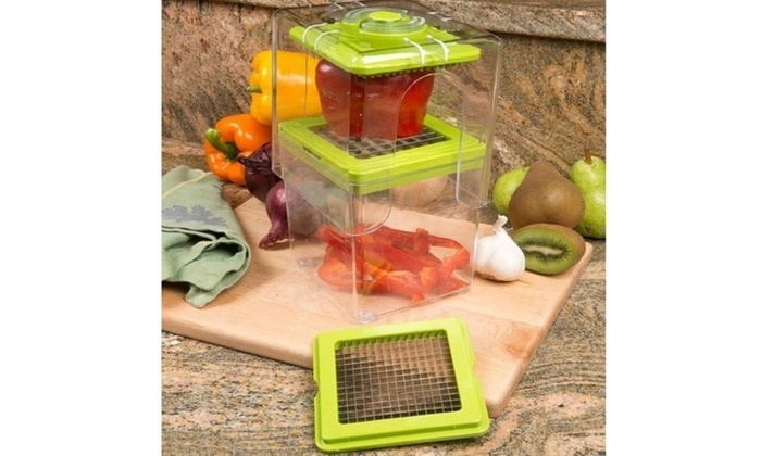 Quick Veggie And Fruit Chopper With Container 5ad8cd0a2c043d06fb609fbf