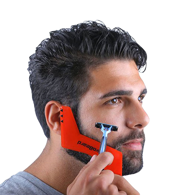 Beard Styling Comb Shaping Tool Mustache Face Irregular Shaving Gifts for Men 5ae019a42a00e479503ae08e