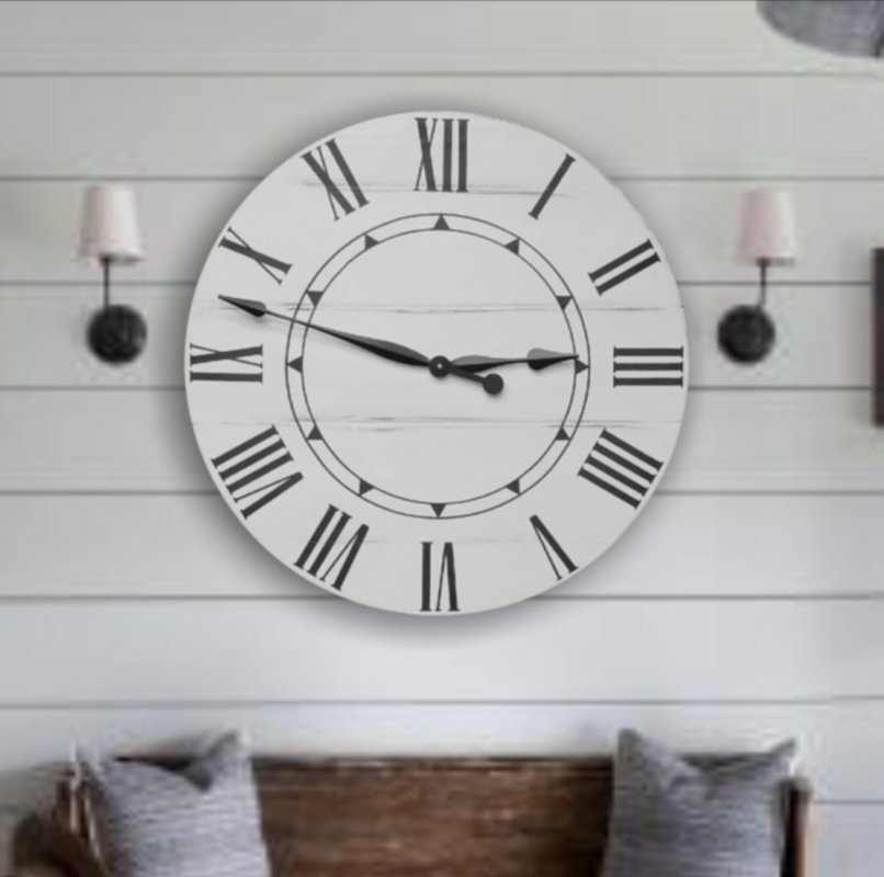 Averystreetdesignco Sidney Wall Clock The