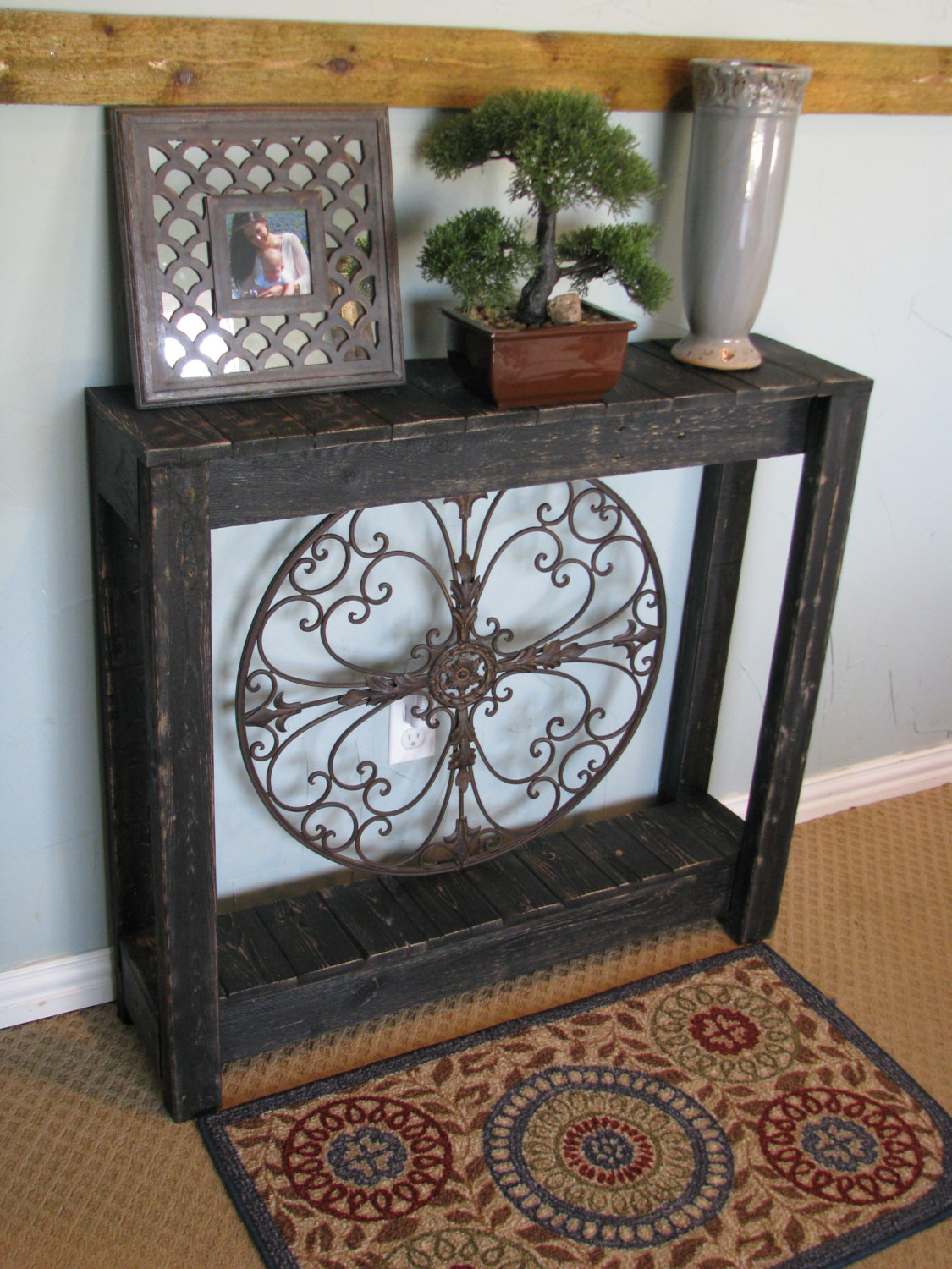 Dougandcristydesigns Rustic Console Table Distressed