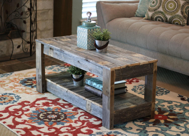 Doug Cristy Unfinished Coffee Table Shelf