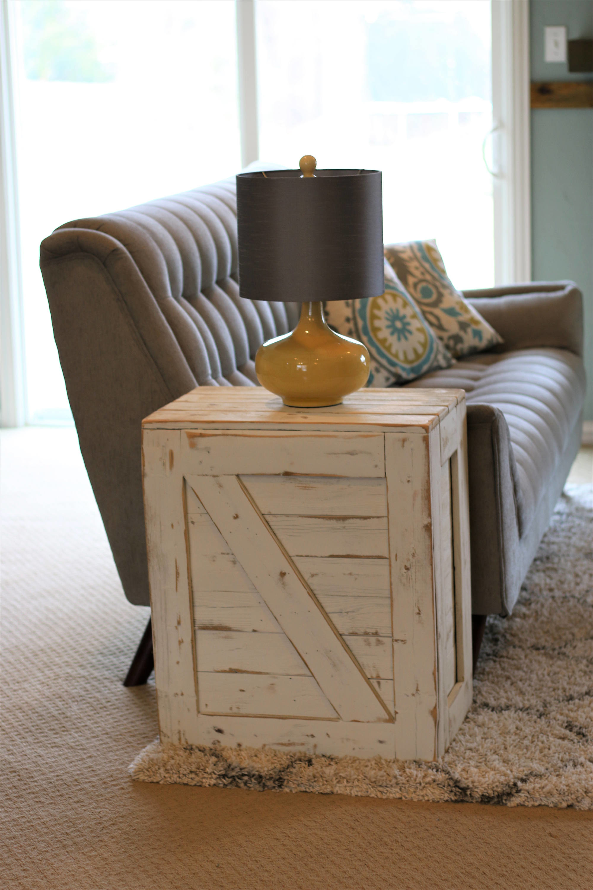 Dougandcristydesigns Crate End Table