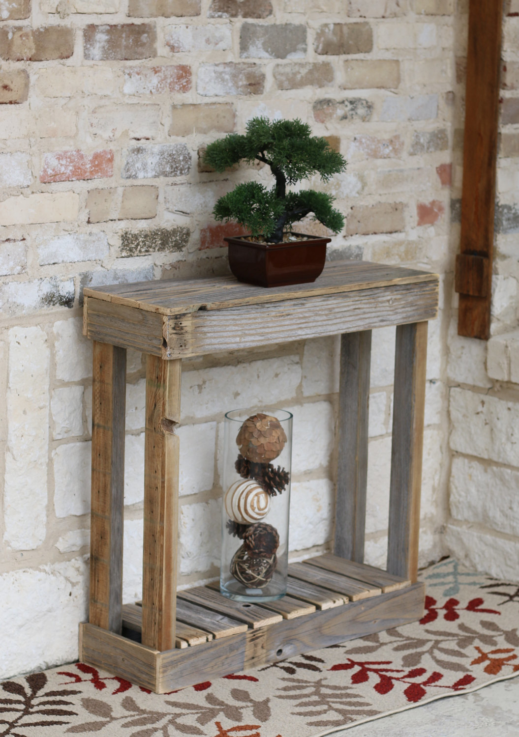 Doug Cristy Designs Slatted Entry Console