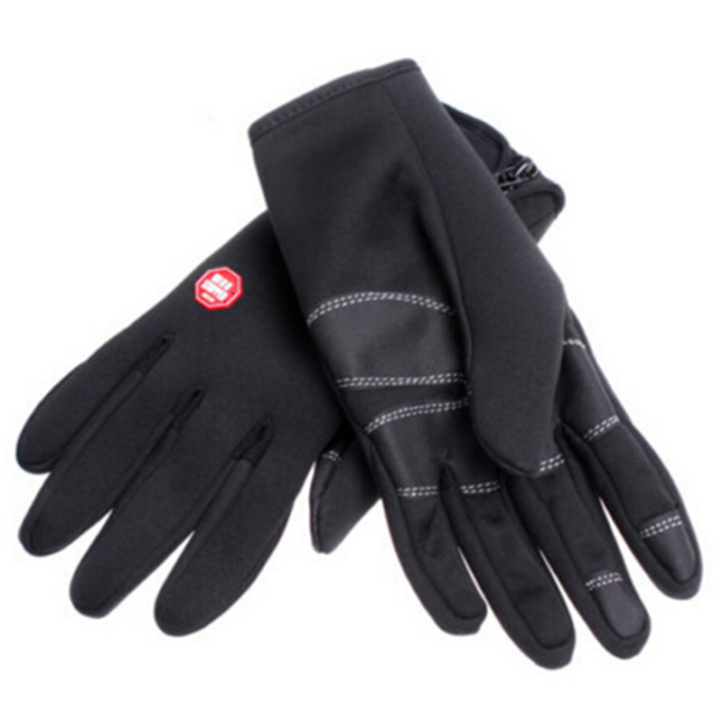 Bicycle Gloves 2018 New Windstopper Outdoor Sport Cycling Hiking Motorcycle Bike Glove For Men Women 5b029b8a2a00e4074e02970e