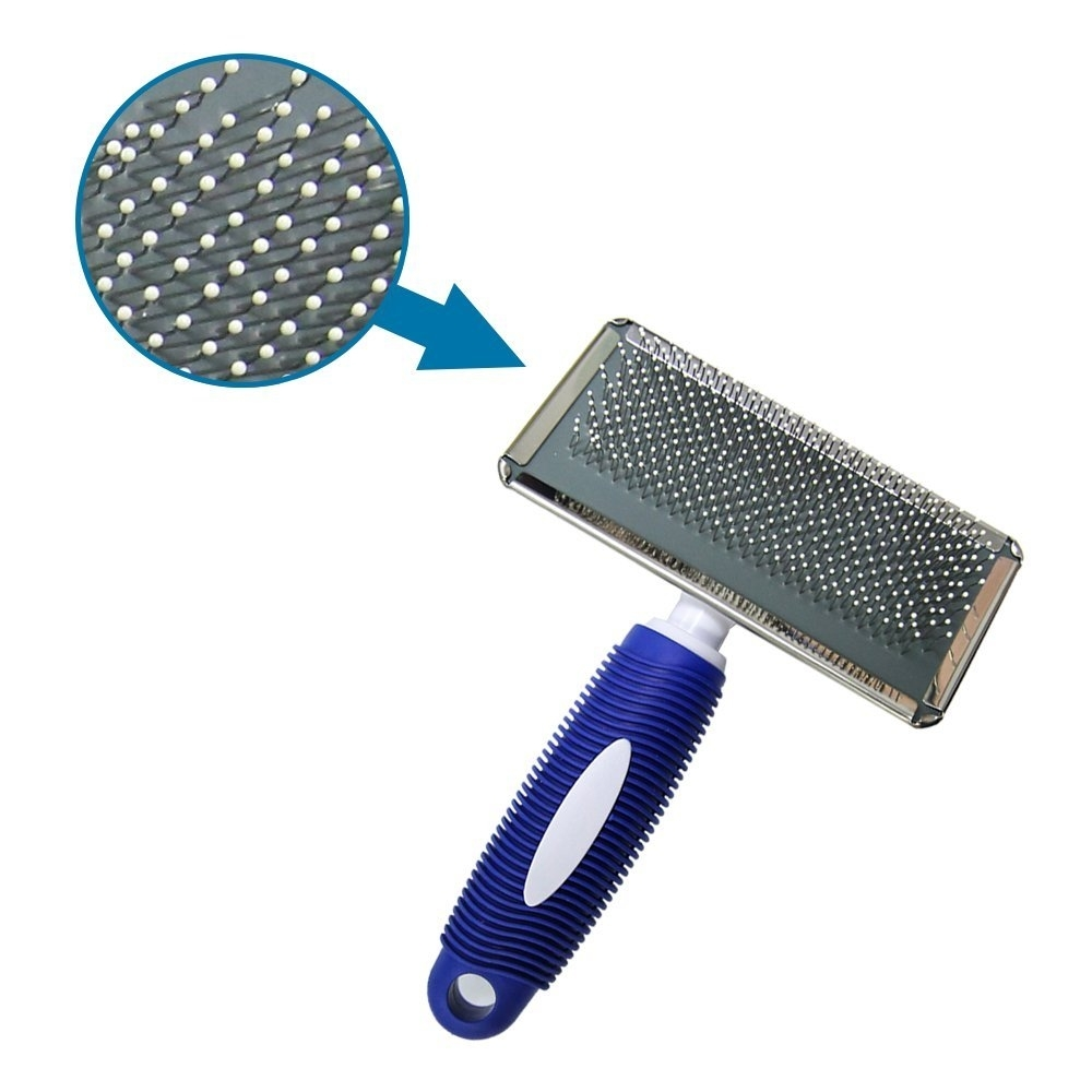 Stainless steel wire brush for dogs grooming tool 5b0379515ec748751d0fa732