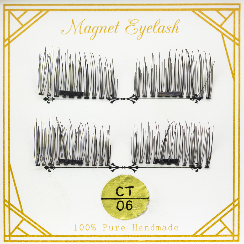 1 Pair 3D Natural False Eyelashes - Single Magnet 5b1653d099336a753a0ed6c8