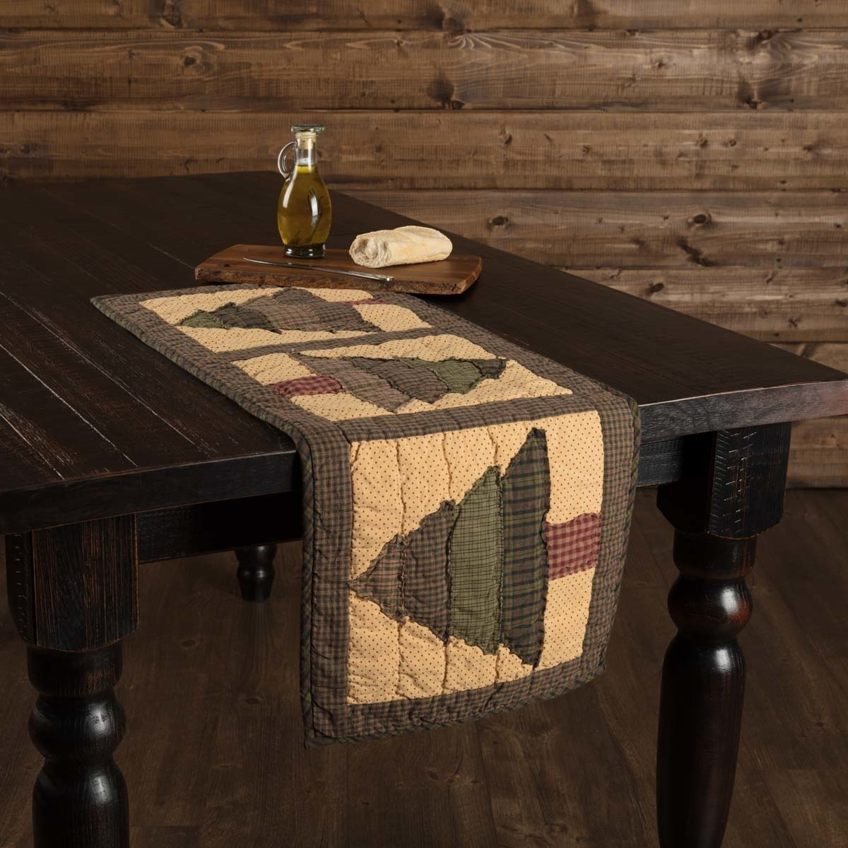 Seasonal Tabletop & Kitchen Sequoia Green Quilted Runner 5b17f29c15910230cf3d6ba0