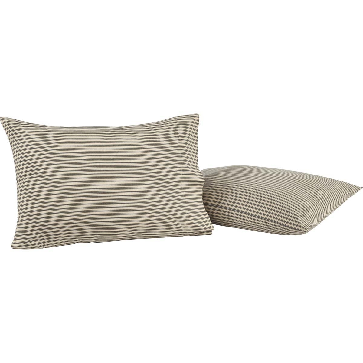 Farmhouse Bedding Kendra Stripe Pillow Case Set Of 2