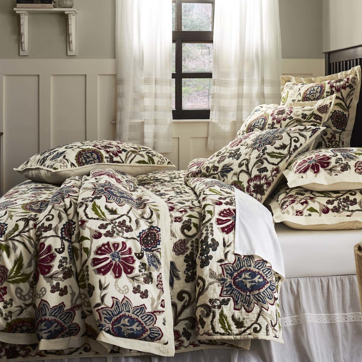 Farmhouse Bedding Hope White Quilt