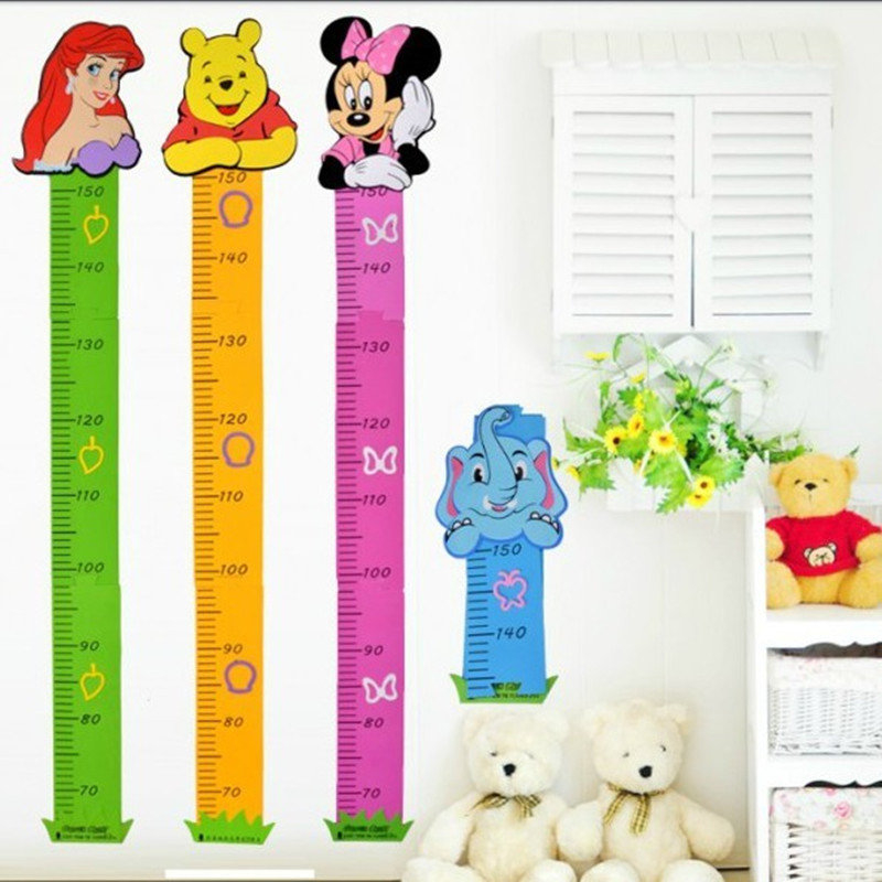 Baby Growth Puzzle Stereo Height Ruler (Removable Wall Sticker) 5b2f717e9623527d6254dd51