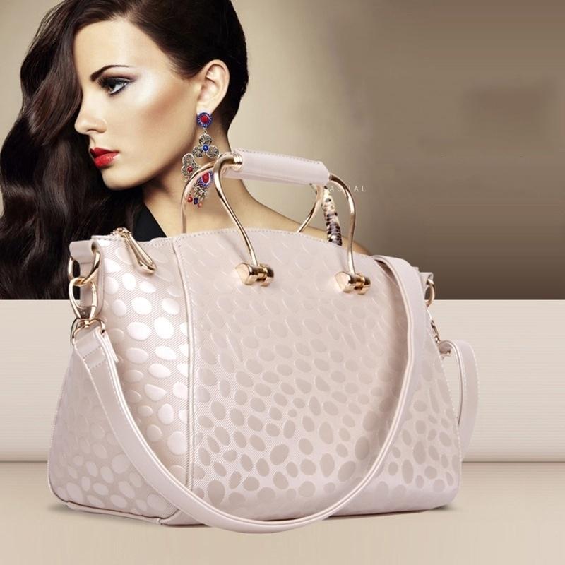 New Women Handbag Shoulder Bags Tote Purse Soft Leather Messenger Hobo (ZHONG-068SHANGSHANG) photo