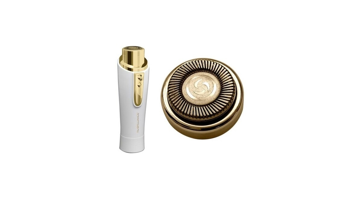 NuBrilliance Hairless Hair Remover - Gold 5b462a4aba072217481b2114