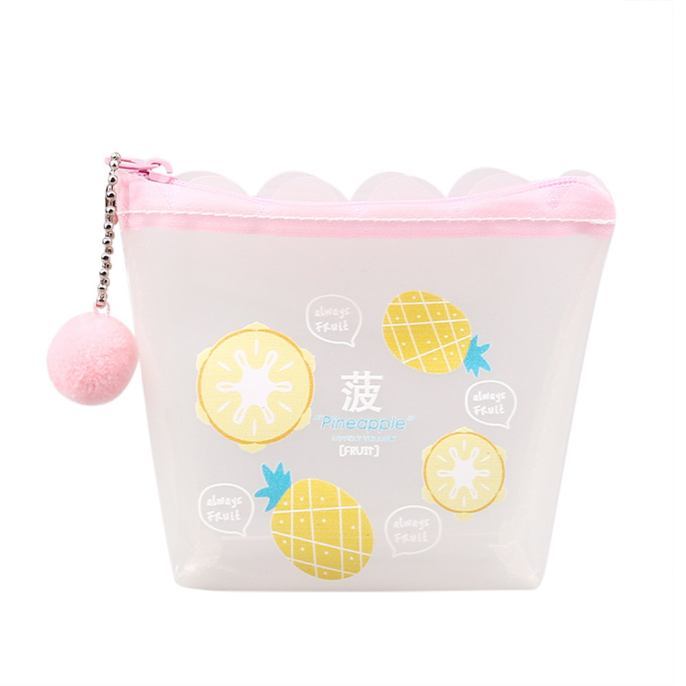 Cartoon Transparent Cute Coin Purse Student Change Small Object Storage (CWJ80724101A) photo