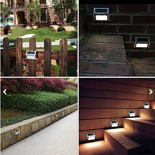 "This section of solar lights can be used in a variety of occasions, as the Garden Lights, Wall Lights, Stair Lights, Street Lights Rxment outdoor solar lights is using high quality """"30Lm"""" LED Smd, 48 LED Qtys, Illuminating 50 square meters of environmental scenes. Light effect is equivalent to 100W ordinary incandescent bulb. Glowing steadily, long life. ? Easy Installation ?: No wiring necessary. Just hanging on two screws (included). Solar energy powered ? Super Brightness ?: Rxment outdoor solar lights is using high quality """"30Lm"""" LED Smd, 48 Led Qtys, Illuminating 50 square meters of environmental scenes. Light effect is equivalent to 100W ordinary incandescent bulb. Glowing steadily, long life. ? Super Long Service Life ?: Lithium Iron Phosphate Battery, More than 5 years life. Aluminum Alloy Shell (Waterproof Anti-corrosion and Anti-stress). LED Life Span - 50000 hours. Color:Pure White Light Source:LED Material Type:Aluminum Alloy Package includes: 2*Lights"