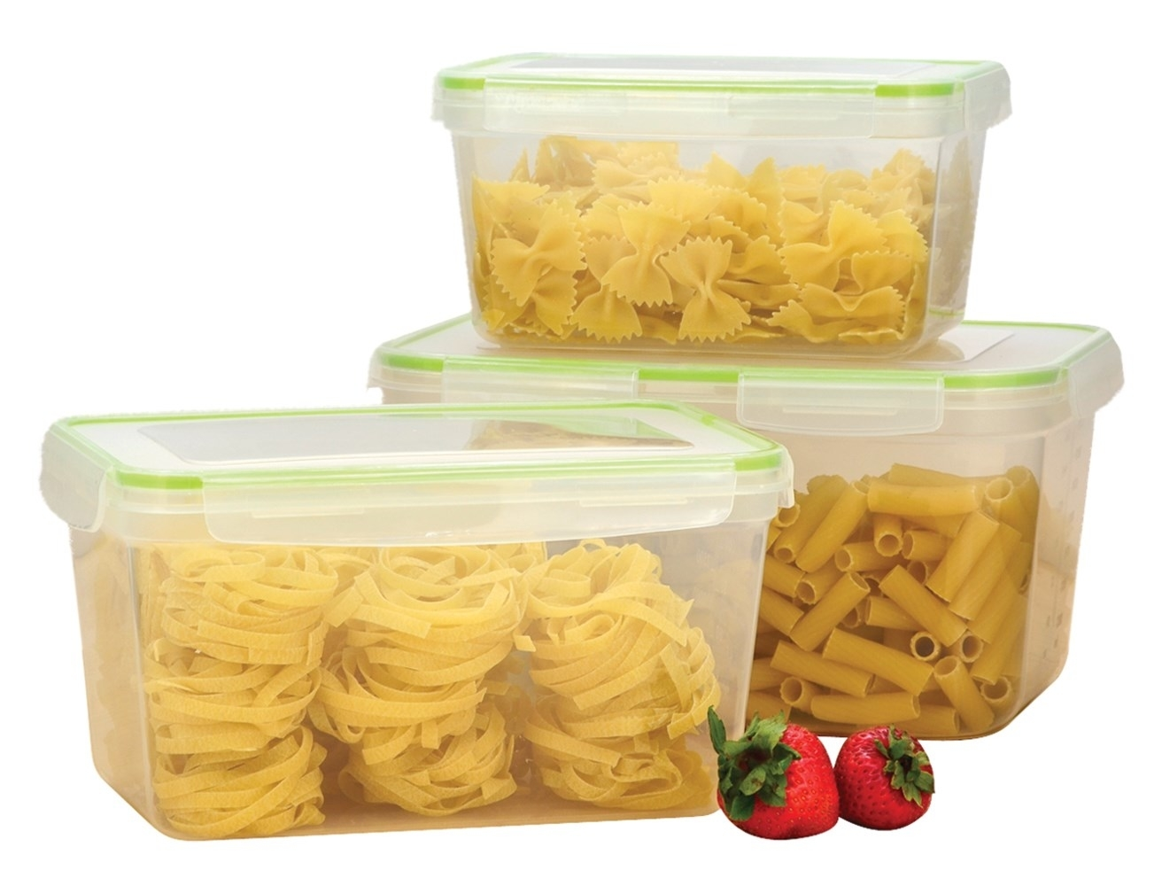 Click�&�Lock�6 Piece Storage Containers