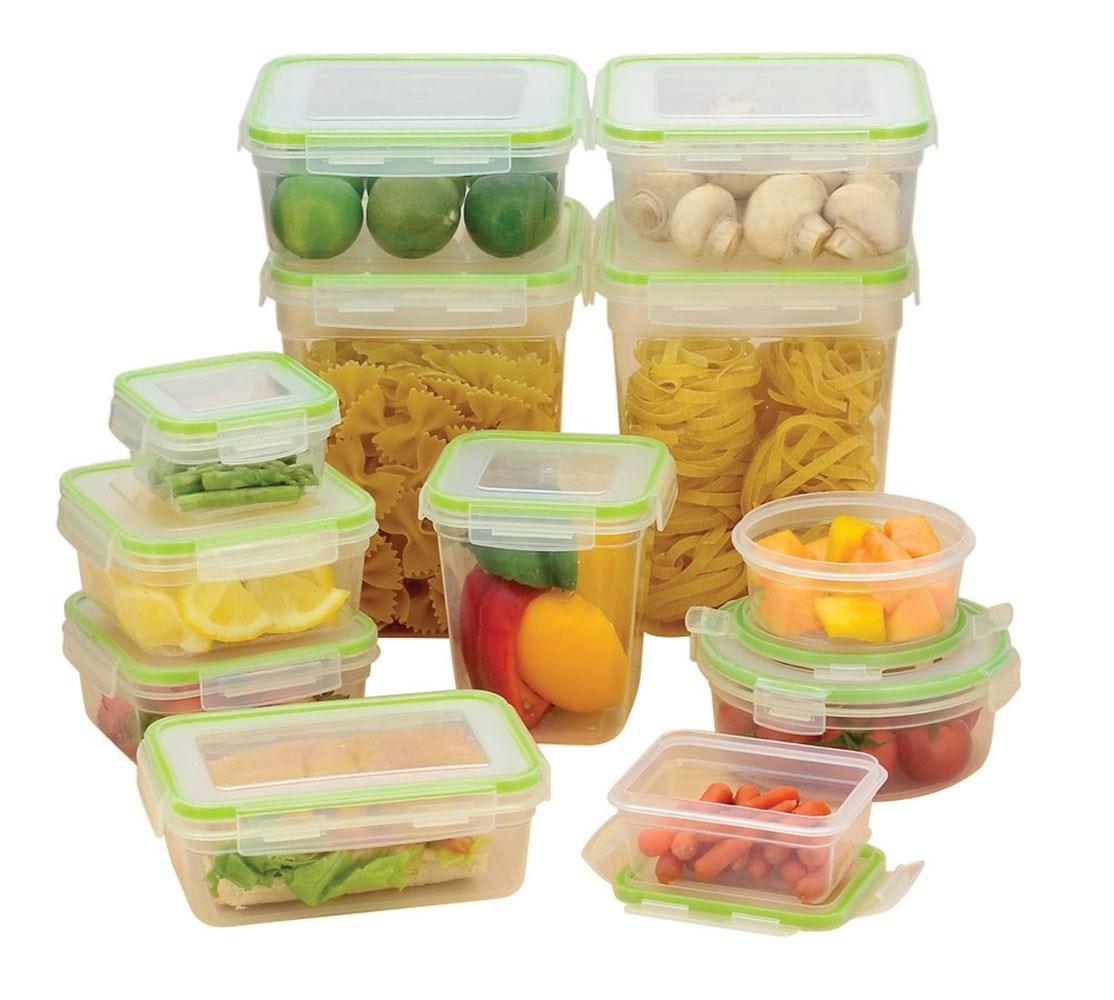 Click�&�Lock�24 Piece Storage Containers