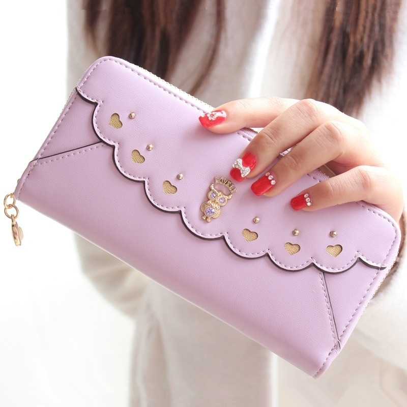 Designer Women Fashion Wallets,Quality Leather Women Purses,High Capacity Women Wallets,Womens New Style Handbags,8 Colors Women Long Style Handbags (Kindenry) photo