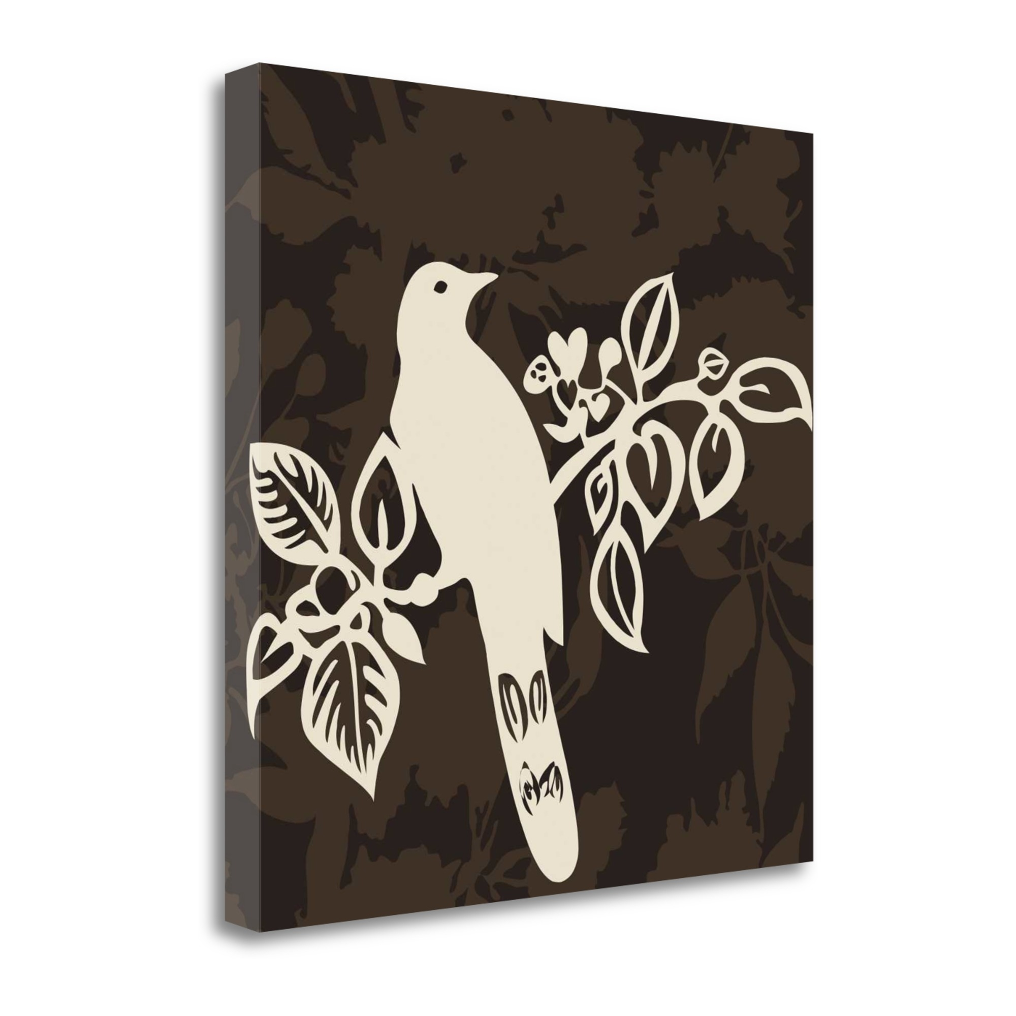 "Song Bird 2 By Jette Svane, 23"" x 23\"" Fine Art Giclee Print on Gallery Wrap Canvas, Ready to Hang"
