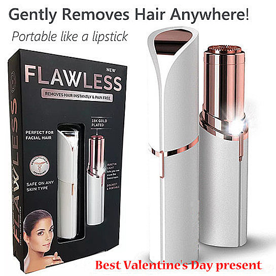 Flawless Skin Women Painless Hair Remover Face Facial Smooth Hair Removal Touch 5bc5ac93ba07225c002954f6