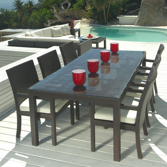 Cozumel 7-Pc Outdoor Patio Dining Table & Chair Set