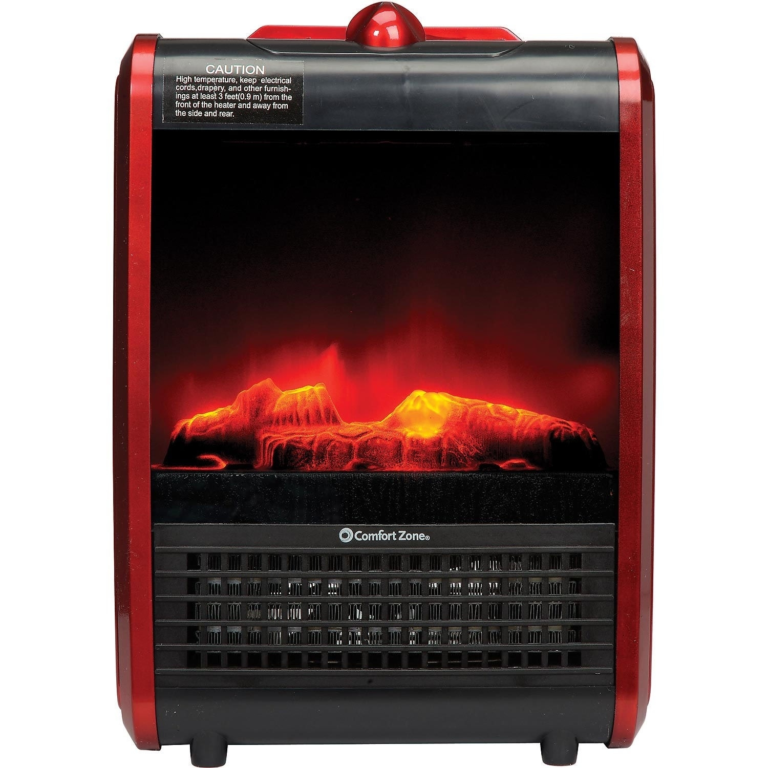 Comfort Zone Portable Fireplace Heater 5bd3382bc58a6260eb324262