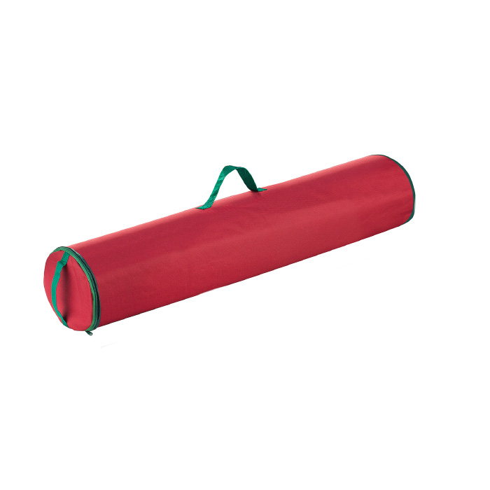 Elf Stor Premium Christmas 40 Inch Wrapping Paper Storage Tube with Handle