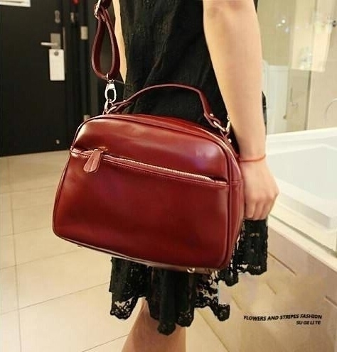 BL Lady Handbag Shoulder Bags Tote Purse PU Leather Women Messenger Hobo photo