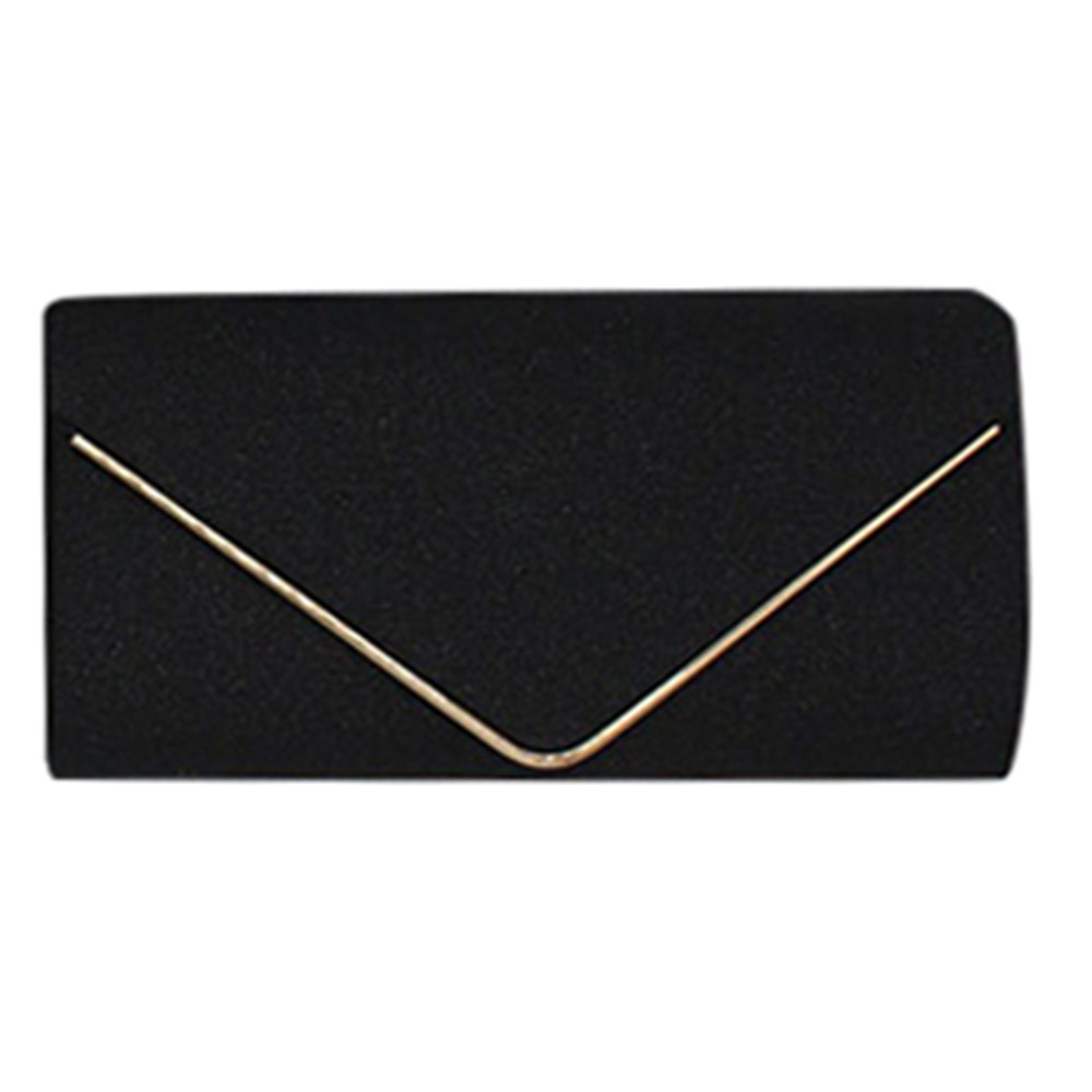 Womens Shining Envelope Clutch Purses Evening Bag Handbags For Wedding Or Party photo