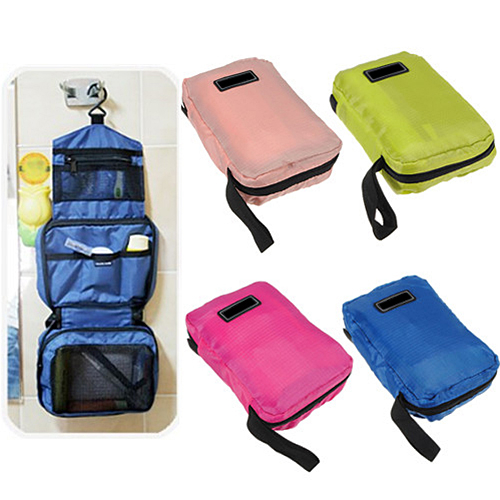 Travel Makeup Toiletry Purse Organizer Hanging Beauty Wash Bag Holder (632980) photo