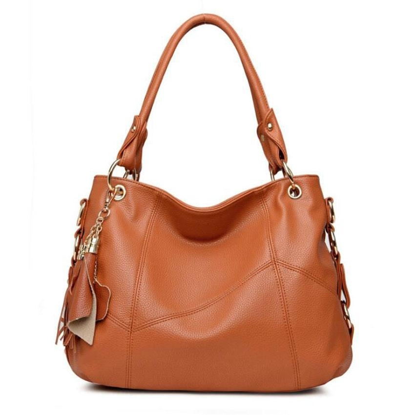 Women Leather Designer Handbags Shoulder Bag (STYLEDOME) photo