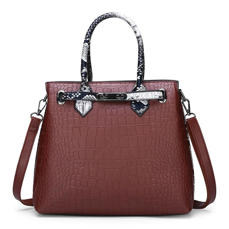 Designer Leather Handbags Satchels Bag - 1 (STYLEDOME) photo