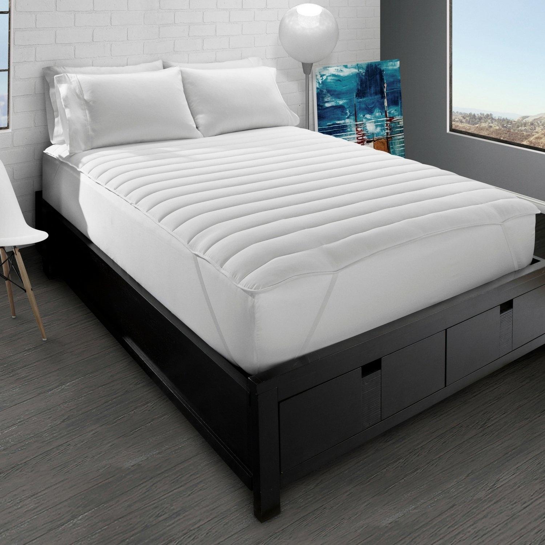 Big & Soft Fiber Bed Mattress Pad - twin
