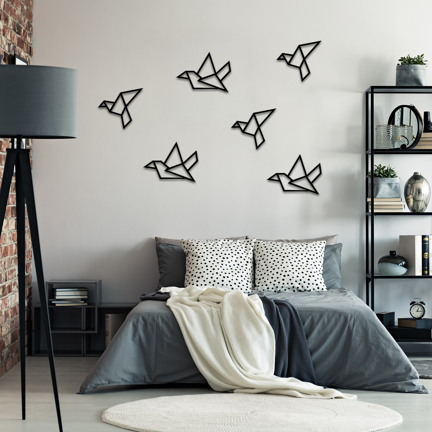 Birds - Metal Wall Decor, Metal Wall Decor, Metal Wall Art