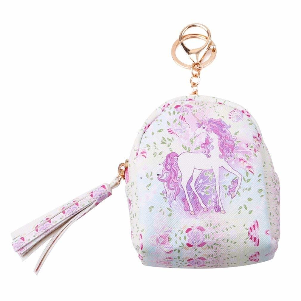 Foreign trade hot money purse Unicorn coin purse Women short coin purse Factory direct wholesale (funnyshopping) photo