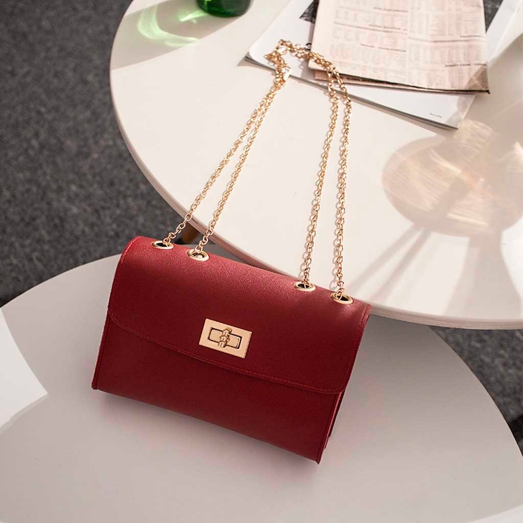 Fashion Lady Shoulders Small Backpack Letter Purse Mobile Phone Messenger (LYH81215412WE_yuan) photo
