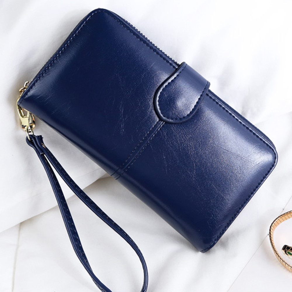 Women Leather Two fold Wallet Coin Purses Credit Cards Holder Pocket h (LJD80227893DB_yuan) photo