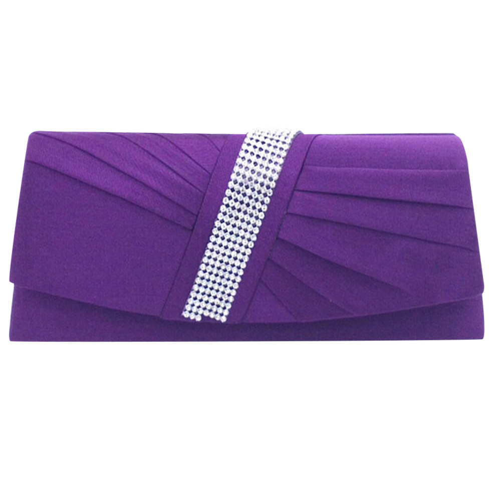 Women's Shining Clutch Purses Evening Bag Wedding Party bags bag 4828 (Yuanzala) photo