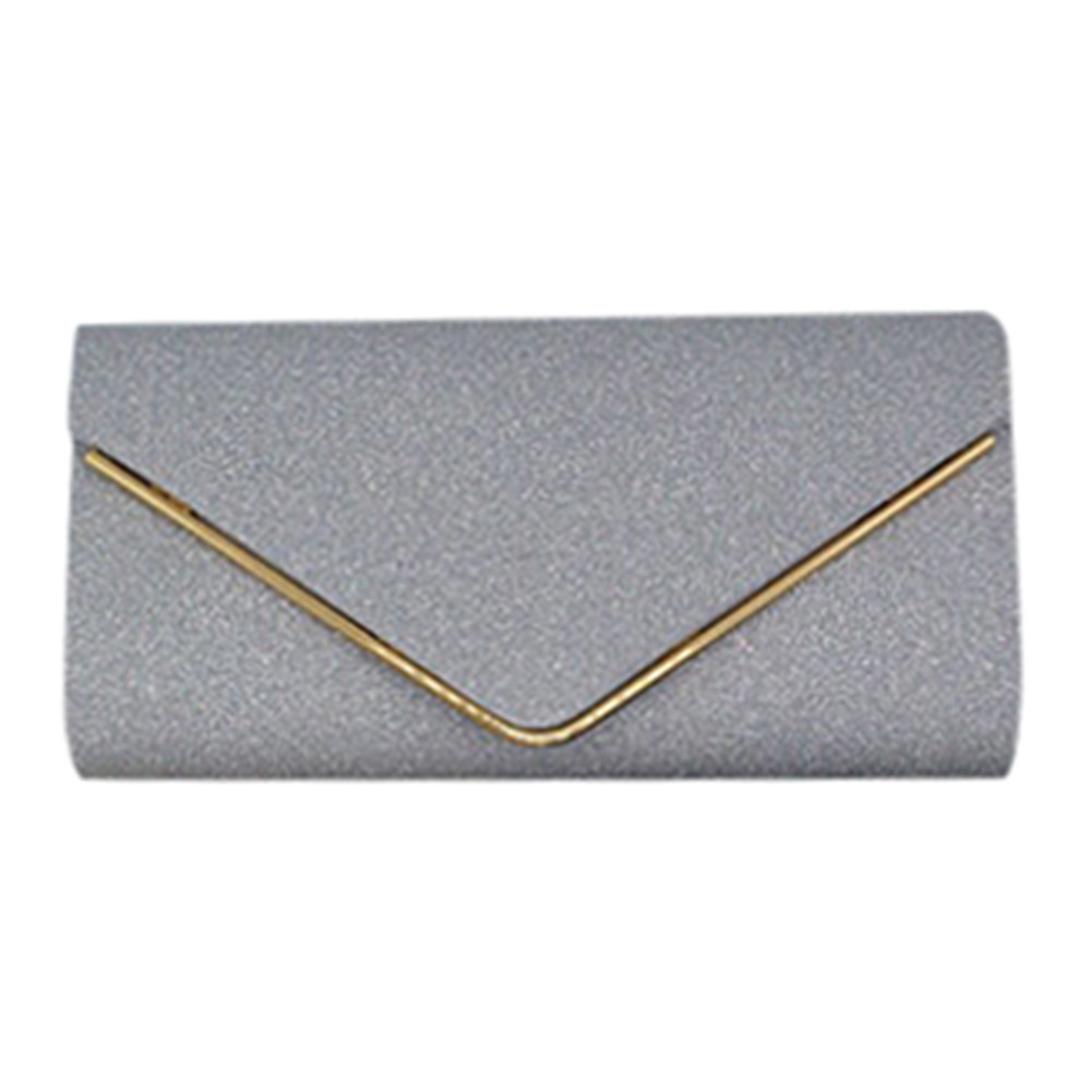 Womens Shining Envelope Clutch Purses Evening Bag Handbags For Wedding Or Party bag 4437 (Yuanzala) photo