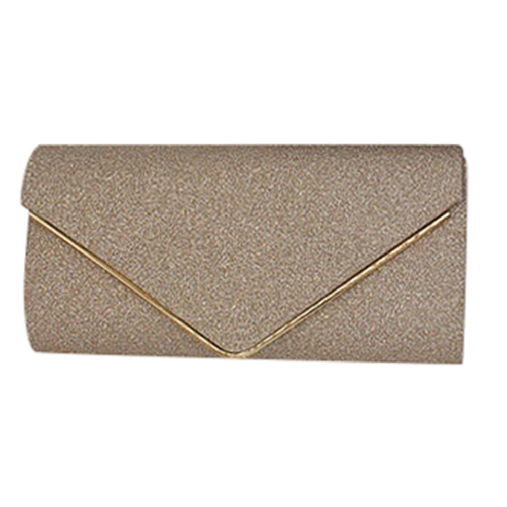 Womens Shining Envelope Clutch Purses Evening Bag Handbags For Wedding Or Party bag 4436 (Yuanzala) photo