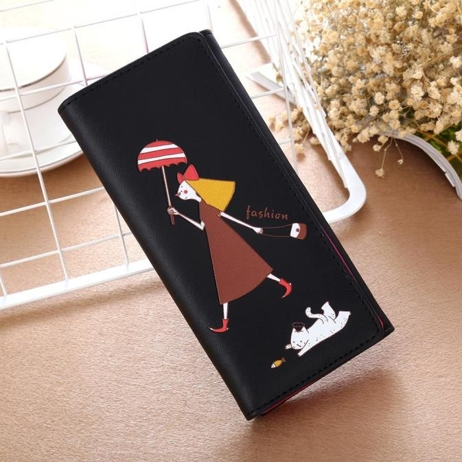 Women Girl Pattern Coin Purse Long Wallet Card Holders Handbag BK clutch 676 (Yuanzala) photo