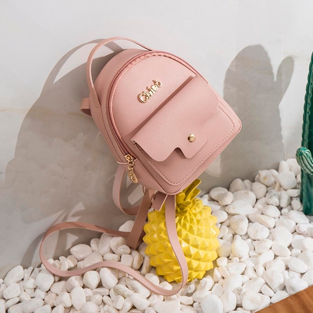 Fashion Ladies shoulders Small Backpack Letter Purse Mobile Phone Bag (LYH80925412PK_yuan) photo
